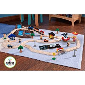Kidkraft Bucket Top Mountain 56-piece Train Set