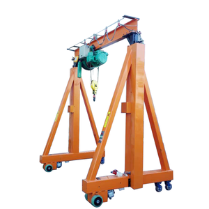 Portable 1ton Mini Mobile Gantry Crane Price