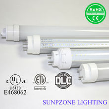 UL ETL DLC listed 2ft 3ft 4ft 5ft 6ft 8ft T8 LED tube replacement of Sylvania