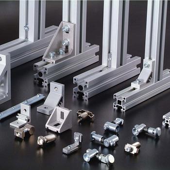 Bosch Compatible Aluminum Profile Accessories For T Slot