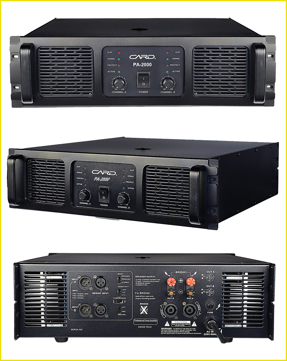 Outdoor Stage Sound System Dj Equipment Harga Power Amplifier ...