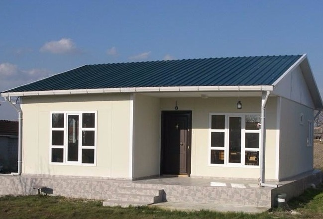 Low Cost Install Convenient Long Lifespan Small Prefab House