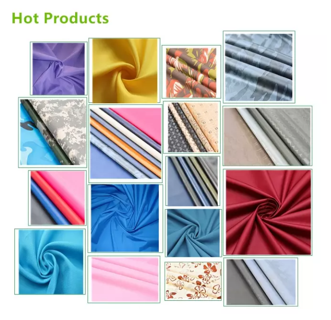 Hot Selling Dobby Polyester Taffeta Fabric