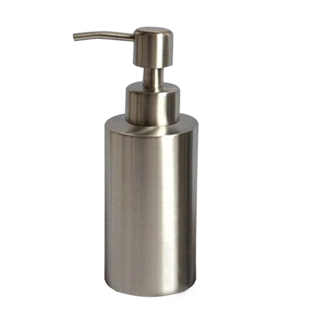 Pueri Soap Dispenser 304 Stainless Steel Soap Liquid Dispenser Hand Wash Bottle for Kitchen Restroom and Bathroom