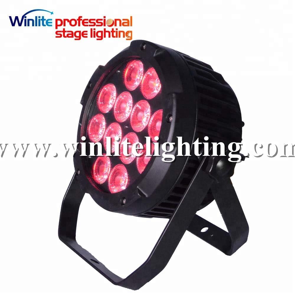 Stage Lighting Effect Commercial Lighting Strict Flight Case 4pcs Aluminum Housing Led Par 18x18w Light Rgbwa+uv Colour Spotlight Dmx512 Stage Lighting For Bars Bowling