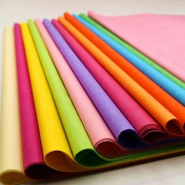 Mf Colored Tissue Paper for Gift Wrapping Jumbo roll gift craft use glitter cardstock wrap paper type