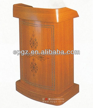 Guangzhou Everpretty custom church podium,crystal acrylic pulpit,acrylic podium pulpit lectern