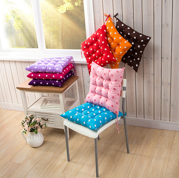 100% polyester handmade chair floor outdoor square recliner bulk hard seat cushion