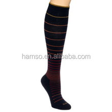 knee high travel graduated compression socks women
