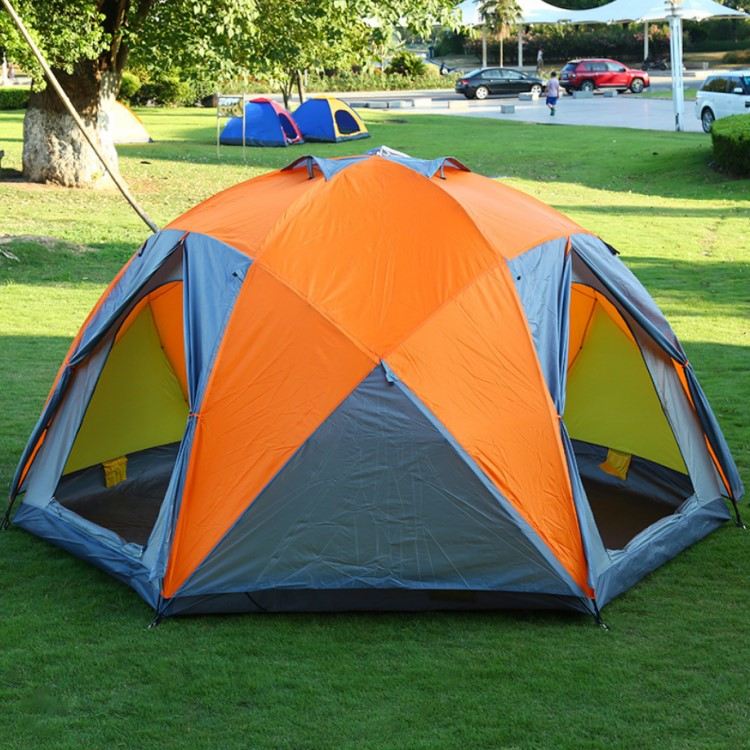 8-12 Person Popular Extra Large Family Size Outdoor Camping Tent Waterproof