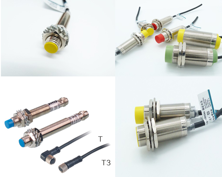 Manufacturer of Chinese proximity Sensor IP67 Detection distance 1-2mm flush/non-flush cylindrical proximity switch