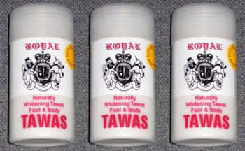 tawas powder in english