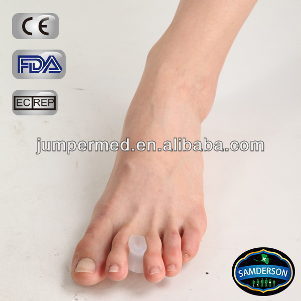 pure silicone gel footcare toe separator between toes