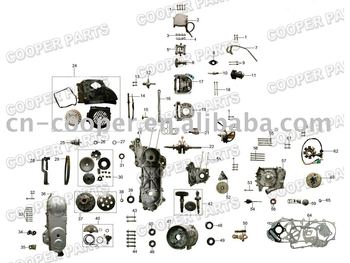 50cc scooter engine parts 139qmb qma buy scooter engine. Black Bedroom Furniture Sets. Home Design Ideas