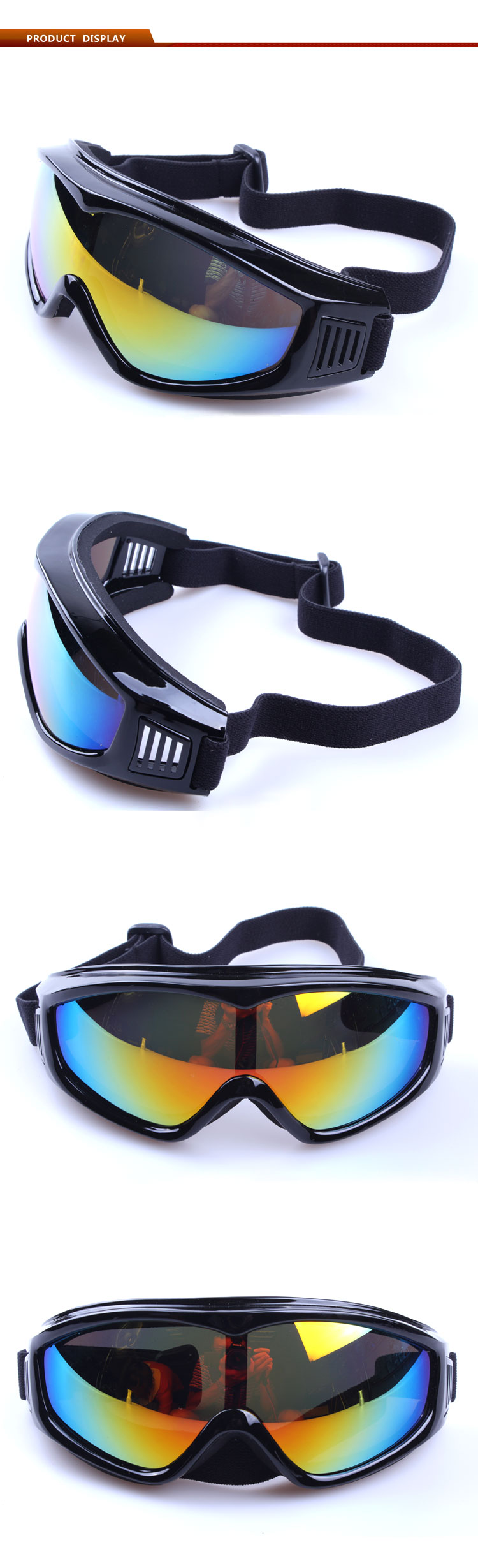 motorcycle glasses goggles mens eyeglasses anti glare UV400