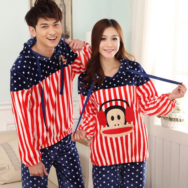 Matching Men And Women Pajamas