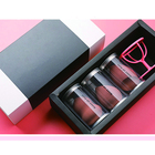 Box Square Brush Packaging Round Makeup Sponge