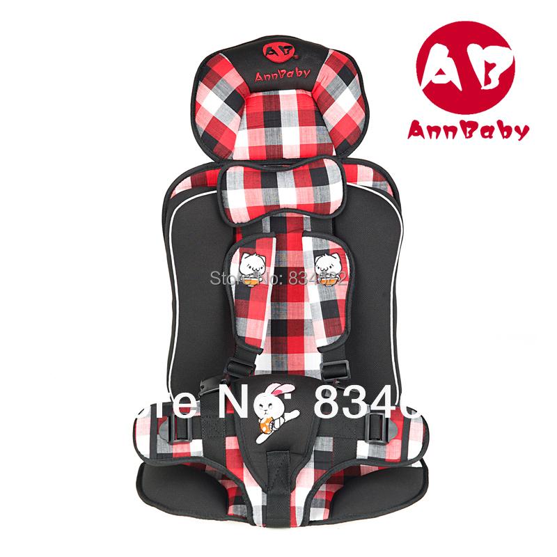 Ребенок безопасности автокресло, Безопасность детское автокресло для ребенка 9 - 25 кг и 9 Months-8 лет, Красный с сеткой, 6 цветов, Медведь