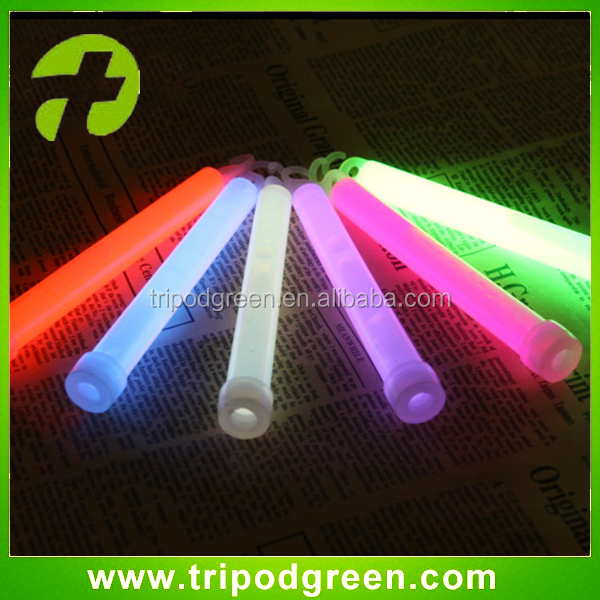 Tripodgreen brand biodegradable glow stick without power