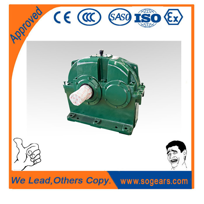 High bearing capacity and long life helical gearbox for ball mill