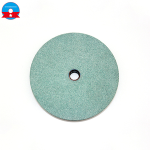 high quality green silicon carbide flat shaped grinding wheel with high grinding rate