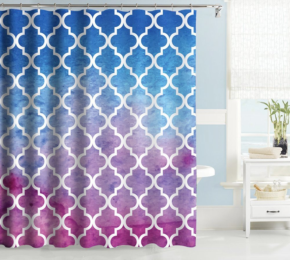 Cheap Moroccan Pattern Shower Curtain, find Moroccan Pattern Shower ...