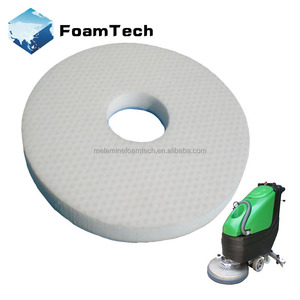 9~17'' melamine foam round pads for floor cleaning machine