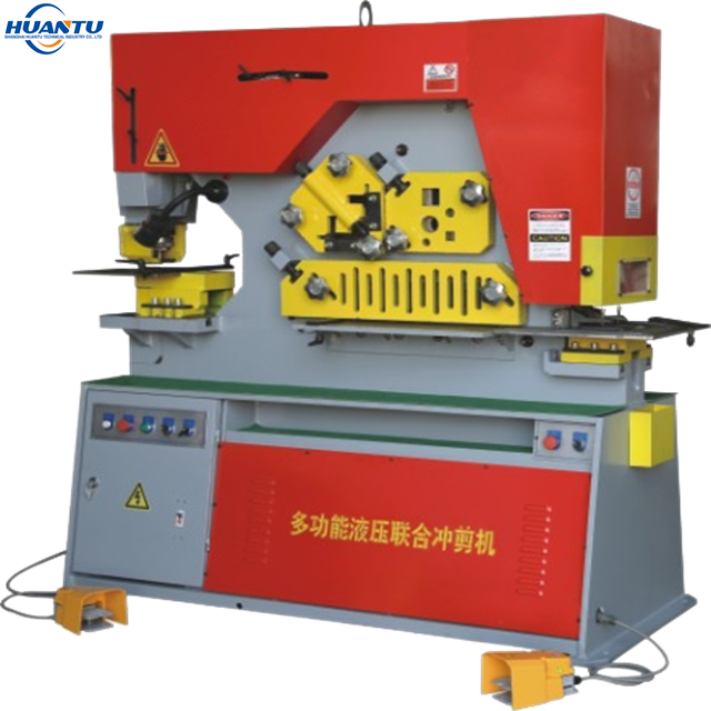 Q35Y hydraulic hole puncher/iron worker from <strong>manufacture</strong>