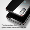 Back film Screen Protector 0.3mm Anti-scratch Tempered Glass for iPhone X