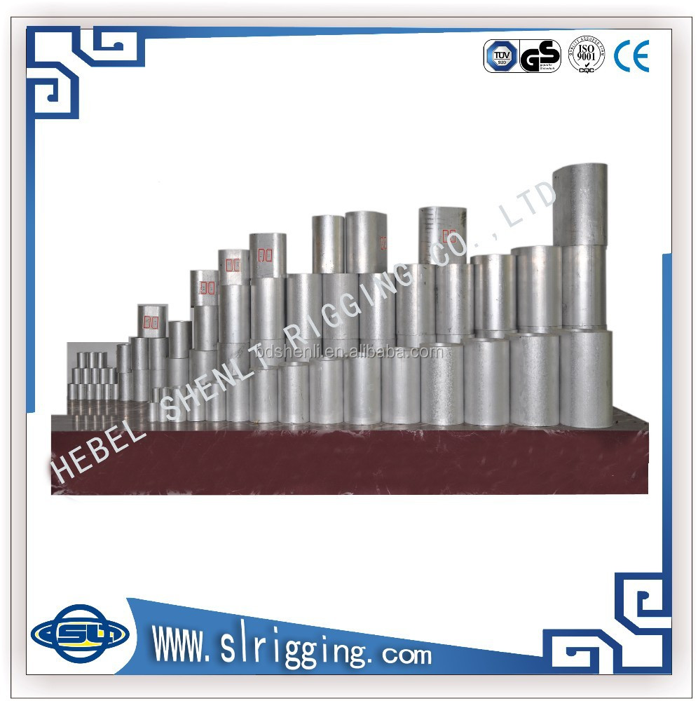 Press Clips Press Din3039 Sleeve Aluminum Ferrule For Wire Rope ...
