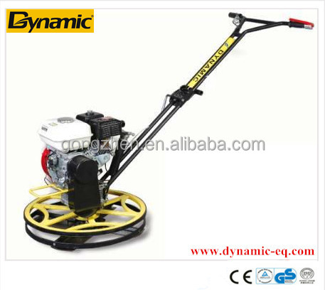 DYNAMIC electric edging power trowel With honda engine