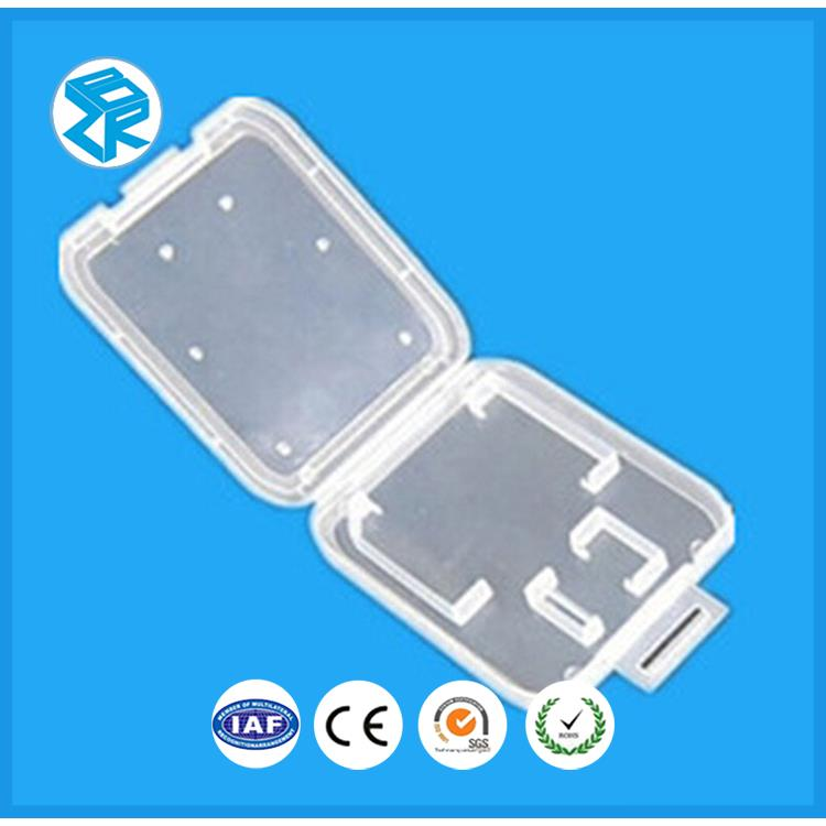 Protable And Durable Container Electronic Storage Micro Sd Plastic Card Box