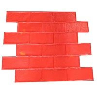 Rubber Molds for Concrete Stamping Paver Block Plastic Moulding