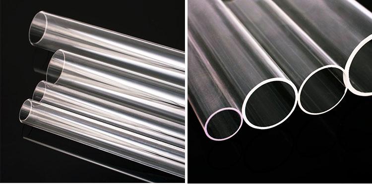 Success Quartz glass high quality tube factory customized clear quartz tube