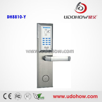 2014 The Latest And Most Expensive Card Digital Door Lock(DH 8810Y)