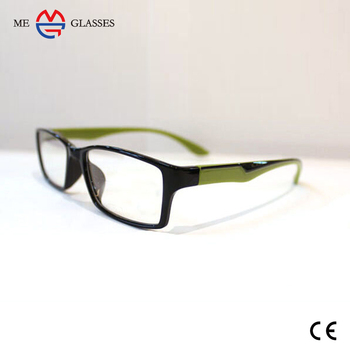 2017 Fashion Modern Optical Bright Color Plastic Eye Glass Frames