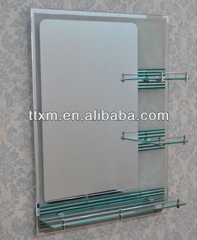 Ximu Economic Painting And Sandblast Bath Mirror Wall Mounted ...