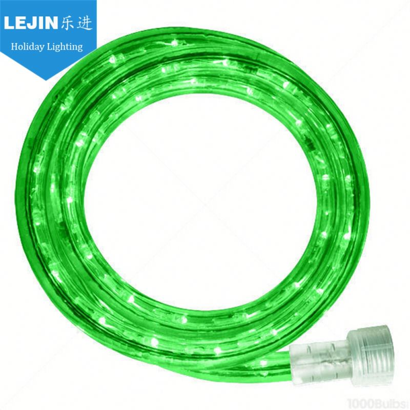 green 12 volt led rope lights for boats For wholesales party decoration