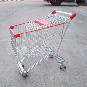 105L supermarket shopping trolleys with small volume