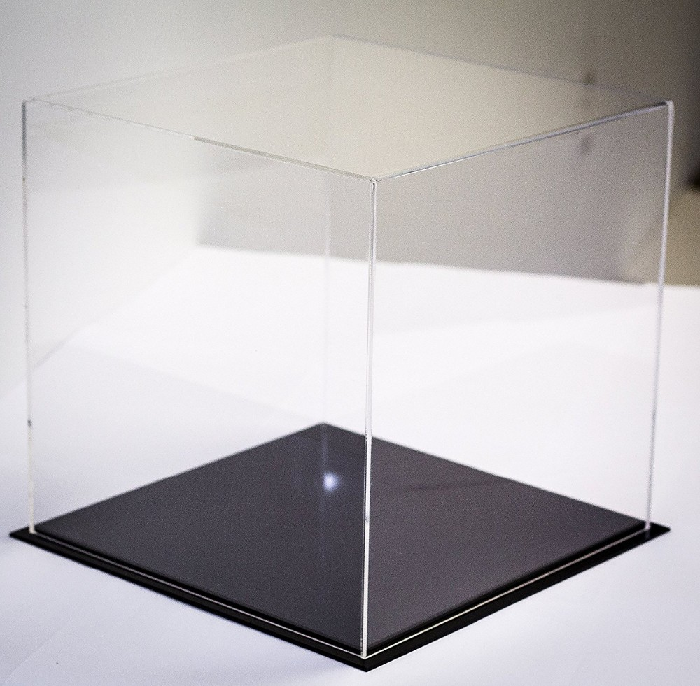 Table top display case - Acrylic Deluxe Table Top Display Case In Multiple Sizes For Collectibles With Uv Protection