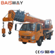 10 ton mini truck crane truck mounted crane for sale with T-king chassis