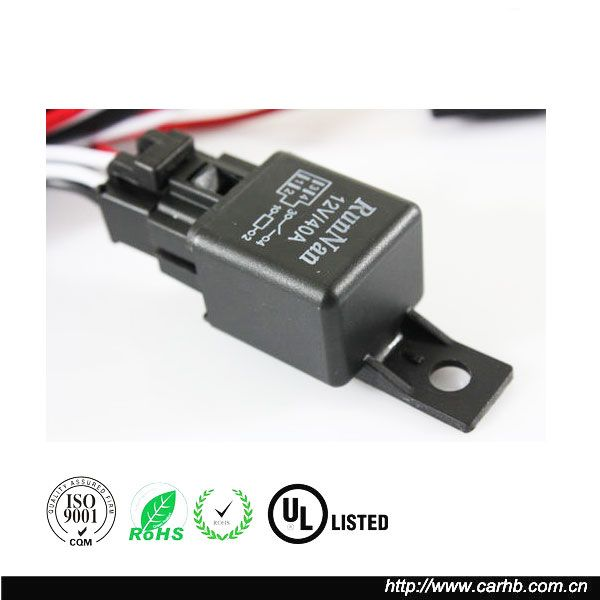 Car Relay Harness 30a 5 Pin Wire Socket 12v Relay Switch 5 Pin Socket - Buy  12v Relay Harness With Socket,12v 5 Prong Relays With 5 Prong