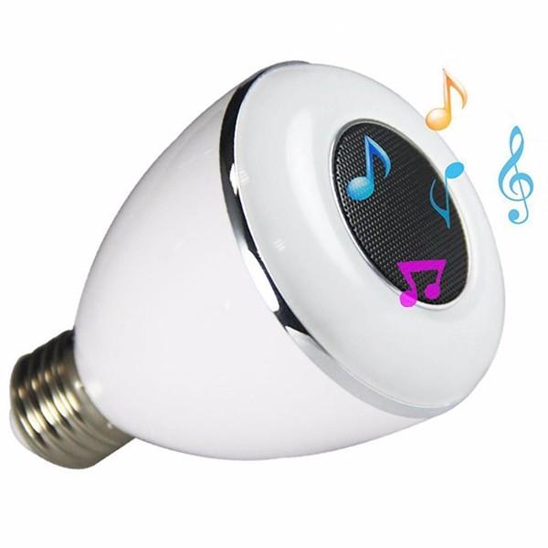 Bluetooth smart led light bulb speaker smartphone for Bluetooth controlled light bulb