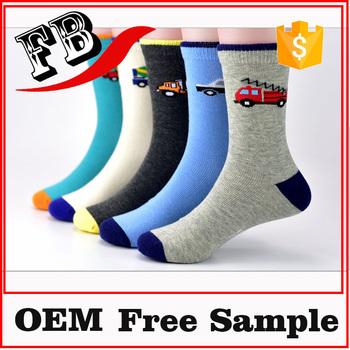 Kids Cartoon Socks Boy Ski Socks Cute Baby Babe Shose Socks