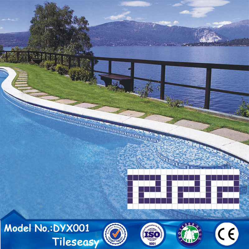 Decorative Blue Ceramic Tile Border Tiles For Swimming Pool Buy