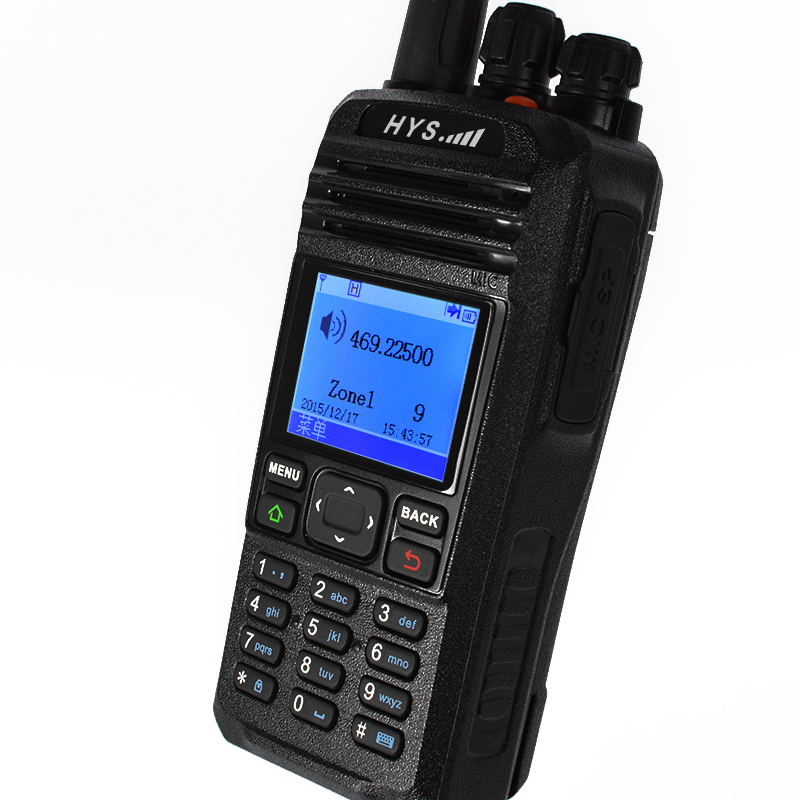 De longo alcance UHF DPMR digital walkie talkie rádio 100km