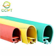 Weather resistance plastic wire protection tube silicone rubber cover overhead line insulation sleeve
