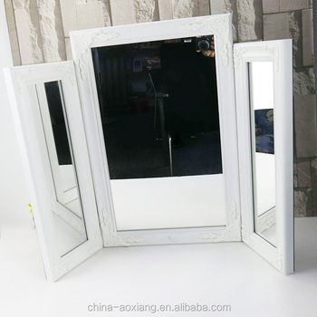 3 In 1 Make Up Table Mirror Frame For Fashion Show