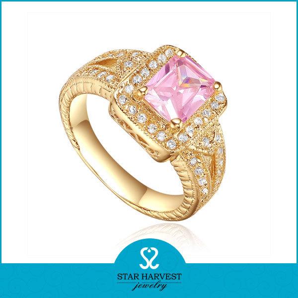 China Pink Gold Kundan Ring Wholesale 🇨🇳 Alibaba
