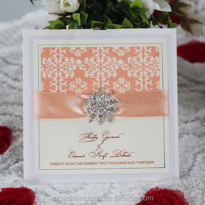 2017 New Unique Extravagant Wedding Invitations With Ribbon Debut Lace Pocketfold